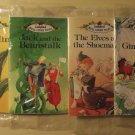 Four Ladybird & Long John Silver's Classic tales books - complete set! Thumbelina Jack Beanstalk +