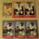 6 Ernie Banks baseball cards, various brands & years, NM/M Chicago Cubs