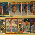 51 George Brett baseball cards, Donruss, Score, Topps, Upper Deck, Fleer, many more NM/M