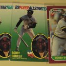 3 Bobby Bonilla baseball cards, Donruss Opening Day, Fleer All-Star, NM/M