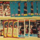 23 Rod Carew baseball cards, Donruss, Fleer, Topps,  NM/M