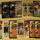 38 Jose Canseco baseball cards, Donruss, Fleer, Upper Deck,  NM/M