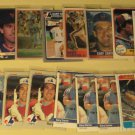 39 Gary Carter baseball cards, Donruss, Fleer, Topps, + more   NM/M