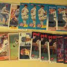 24 Steve Carlton baseball cards, Donruss, Fleer, Topps, Sportflics,  NM/M