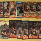 14 Joe Carter baseball cards, Donruss, Fleer,  NM/M