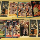 34 Will Clark baseball cards, Donruss, Fleer, Topps, Score, Upper deck, NM/M