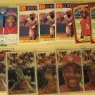 12 Vince Coleman baseball cards, Sportflics, Topps, Fleer,  NM/M