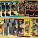 46 Andre Dawson baseball cards, Donruss, Fleer, Topps, Score