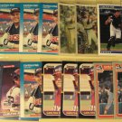21 Carlton Fisk baseball cards, Donruss, Fleer, Topps, Sportflics,  NM/M