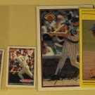 6 Mark Grace baseball cards, Fleer, Score, Topps, Bowman, NM/M