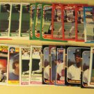36 Rickey (Ricky) Henderson baseball cards, Donruss, Fleer, Topps, NM/M