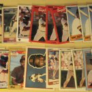 63 Tony Gwynn baseball cards, Donruss, Fleer, Topps, Score, Upper Deck, Bowman, NM/M