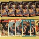 33 Reggie Jackson baseball cards, Donruss, Fleer, Topps, Sportflics, NM/M