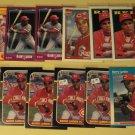 14 Barry Larkin baseball cards, Donruss, Fleer, Topps, Score,   NM/M