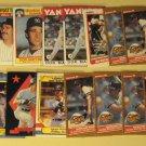 63 Don Mattingly baseball cards, Donruss, Fleer, Topps, Score, Upper Deck, Bowman, NM/M