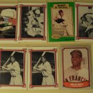 8 Willie Mays baseball cards, Baseball Legends & Willie Mays Story, NM/M, Giants