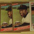 4 Willie McCovey baseball cards, Topps, Donruss, NM/M