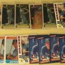20 Dale Murphy baseball cards, Donruss, Sportflics, Topps, Fleer, NM/M