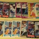 17 Fred McGriff baseball cards, Donruss, Bowman, Topps, Fleer, Score NM/M