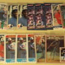 24 Tim Raines baseball cards, Donruss, Sportflics, Topps, Fleer, Upper deck, NM/M