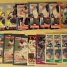 75 Kirby Puckett baseball cards, Donruss, Fleer, Topps, Score, Upper Deck, NM/M