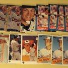 26 Cal Ripken jr. baseball cards, Donruss, Topps, Fleer, Upper deck, NM/M