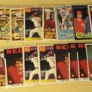 55 Pete Rose baseball cards, Donruss, Fleer, Topps, Permagraphics, NM/M