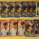 18 Matt Williams baseball cards, Topps, Donruss, Score, NM/M
