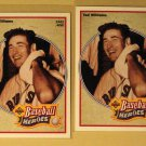 4 Ted Williams baseball cards, Upper Deck, Baseball Legends,, NM/M