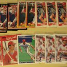 17 Todd Zeile baseball cards, Donruss, Upper deck, Fleer, Topps,  NM/M