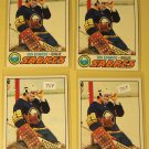 Four (4) 1977/78 Topps Don Edwards Hockey card #201, Buffalo Sabres