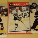3 Wayne Gretzky Hockey cards, Score, Pro Set, NM/M