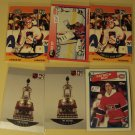 6 Patrick Roy Hockey cards, Topps, Pro Set, Score NM/M