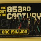 DC Comics One Million promo promotional plastic ID (identification) card tag, 1998