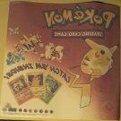 "Pokemon Trading Card Game (TCG) unused window sticker decal, 9"" x 9"", 1998 Gotta Catch 'em all!"