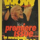 1999 WOW World of Wrestling magazine promo promotional wrestling mag, mini sized, full color 8 pg