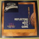 1998 - 1999 Fleer Brilliants promo promotional basketball foldout poster/flyer