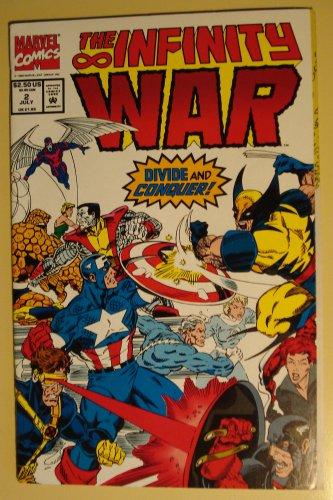 Marvel Comics - The Infinity War #2 comic book, Galactus, Silver Surfer