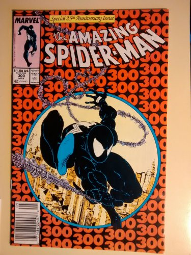 Amazing Spider-Man #300 (Spiderman) comic book, Marvel Comics, Todd McFarlane, VG/F Venom
