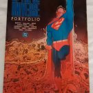 1986 History of the DC Universe Portfolio, complete, 10 plates, various artists, Batman, Superman