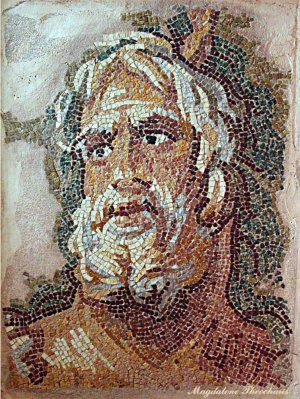 SEA GOD FROM ZEUGMA ANTIOCH