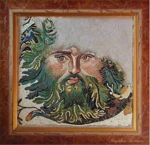 SEA GOD FROM CONSTANTINOPLE. REPLICA