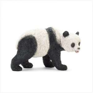 WALKING PANDA FIGURINE