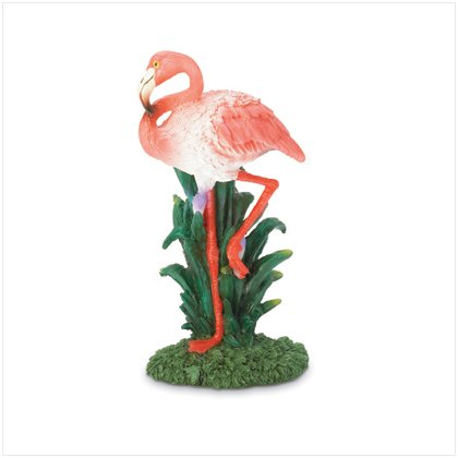 RISIN FLAMINGO FIGURINE