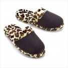 LEOPARD PRINT SLIPPERS - SMALL