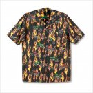 MOTORCYCLE MEN`S CAMP SHIRT LARGE
