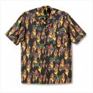 MOTORCYCLE MEN`S CAMP SHIRT XLARGE