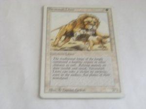 Magic The Gathering - Savannah Lions
