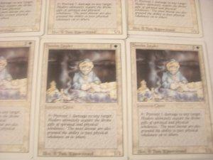 Magic The Gathering - Samite healer Set of 7