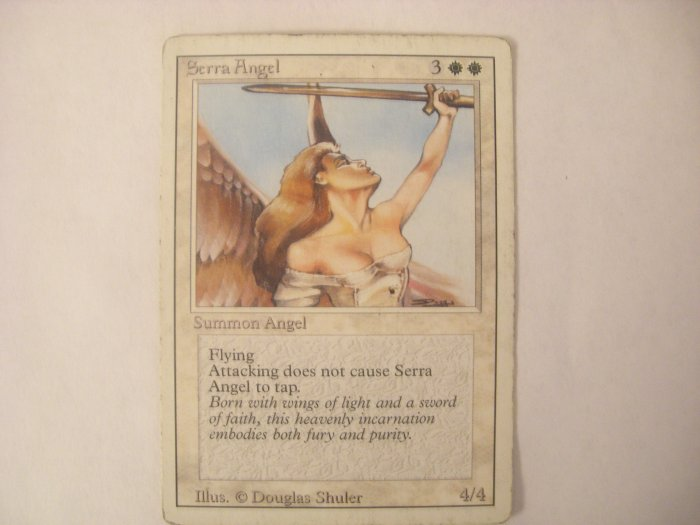Magic The Gathering - Serra Angel